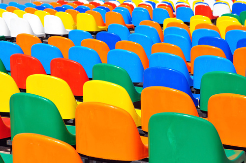 plastic stadium chairs uv additive
